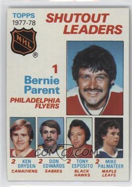 1978-79 Topps - [Base] #70 - Bernie Parent, Ken Dryden, Don Edwards, Tony Esposito, Mike Palmateer
