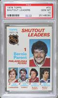 Bernie Parent, Ken Dryden, Don Edwards, Tony Esposito [PSA 10]