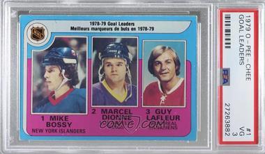 1979-80 O-Pee-Chee - [Base] #1 - Marcel Dionne, Mike Bossy, Guy Lafleur [PSA3VG]