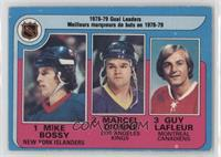 Marcel Dionne, Mike Bossy, Guy Lafleur [Good to VG‑EX]