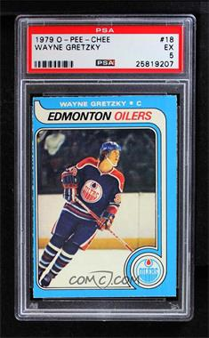 1979-80 O-Pee-Chee - [Base] #18 - Wayne Gretzky [PSA5EX]