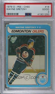 1979-80 O-Pee-Chee - [Base] #18 - Wayne Gretzky [PSA2GOOD]