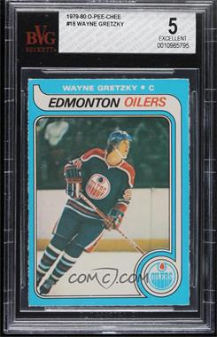 1979-80 O-Pee-Chee - [Base] #18 - Wayne Gretzky [BVG 5 EXCELLENT]