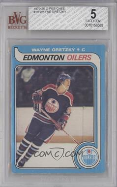 1979-80 O-Pee-Chee - [Base] #18 - Wayne Gretzky [BVG5EXCELLENT]