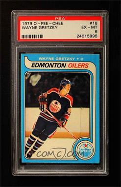 1979-80 O-Pee-Chee - [Base] #18 - Wayne Gretzky [PSA6EX‑MT]