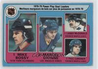Marcel Dionne, Lanny McDonald, Paul Gardner, Mike Bossy [Poor to Fair]