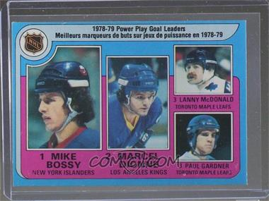 1979-80 O-Pee-Chee - [Base] #5 - Marcel Dionne, Lanny McDonald, Paul Gardner, Mike Bossy [Altered]
