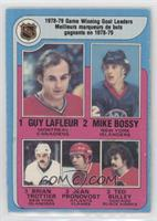 Jean Pronovost, Ted Bulley, Guy Lafleur, Mike Bossy, Bryan Trottier [Poor …