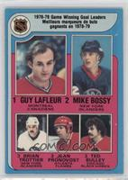 Jean Pronovost, Ted Bulley, Guy Lafleur, Mike Bossy, Bryan Trottier