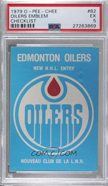 1979-80 O-Pee-Chee - [Base] #82 - Edmonton Oilers Team [PSA5EX]