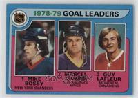 Goal Leaders (Mike Bossy, Marcel Dionne, Guy Lafleur) [GoodtoVGR…