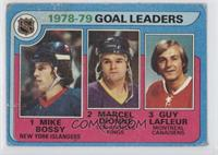 Goal Leaders (Mike Bossy, Marcel Dionne, Guy Lafleur) [Poor to Fair]
