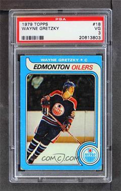 1979-80 Topps - [Base] #18 - Wayne Gretzky [PSA3VG]