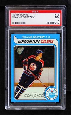 1979-80 Topps - [Base] #18 - Wayne Gretzky [PSA7NM]