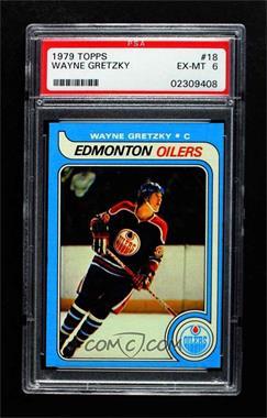 1979-80 Topps - [Base] #18 - Wayne Gretzky [PSA8NM‑MT]