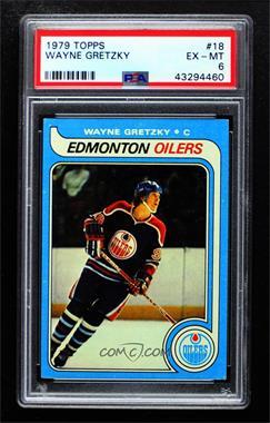 1979-80 Topps - [Base] #18 - Wayne Gretzky [PSA6EX‑MT]