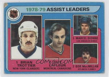 1979-80 Topps - [Base] #2 - Bryan Trottier, Marcel Dionne, Guy Lafleur, Bob MacMillan [Poor to Fair]