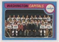 Washington Capitals Team Checklist