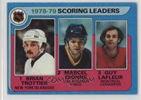 Marcel Dionne, Brian Trottier, Guy Lafleur [Good to VG‑EX]