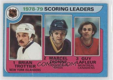 1979-80 Topps - [Base] #3 - Marcel Dionne, Brian Trottier, Guy Lafleur [Poor to Fair]
