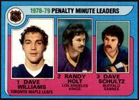 Randy Holt, Dave Schultz, Dave Williams [NM]