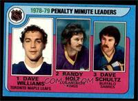 Randy Holt, Dave Schultz, Dave Williams [EX]