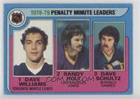 Randy Holt, Dave Schultz, Dave Williams [GoodtoVG‑EX]