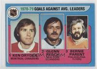 Ken Dryden, Glenn Resch, Bernie Parent