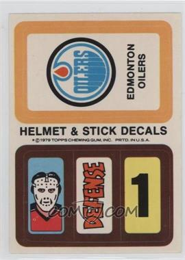 1979-80 Topps - Stickers #EDOI.1 - Edmonton Oilers (Personalized Trading Card Offer)