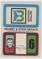 Hartford Whalers (Personalized Trading Card Offer)