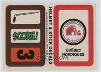 Quebec Nordiques (Personalized Trading Card Offer)