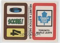 Toronto Maple Leafs [GoodtoVG‑EX]