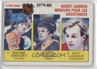 NHL Assist Leaders (Wayne Gretzky, Marcel Dionne, Guy Lafleur) [Poorto&nb…