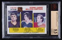 NHL Scoring Leaders (Marcel Dionne, Wayne Gretzky, Guy Lafleur) [BVG9.5&n…