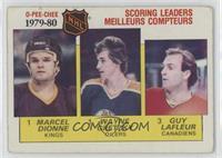 NHL Scoring Leaders (Marcel Dionne, Wayne Gretzky, Guy Lafleur) [Goodto&n…