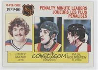 NHL Penalty Minute Leaders (Jimmy Mann, Tiger Williams, Paul Holmgren)