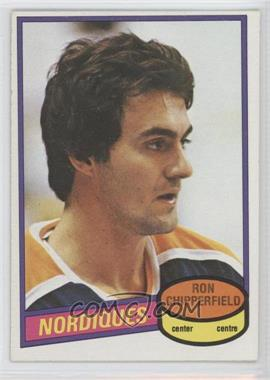 1980-81 O-Pee-Chee - [Base] #280 - Ron Chipperfield
