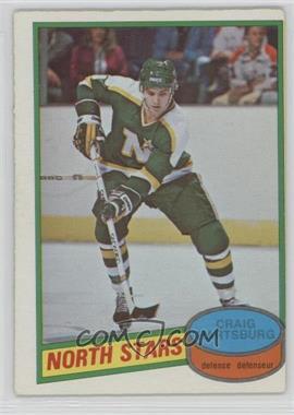 1980-81 O-Pee-Chee - [Base] #317 - Craig Hartsburg