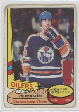 1980-81 O-Pee-Chee - [Base] #87 - Wayne Gretzky [Poor]