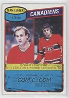Guy Lafleur, Pierre Larouche [Poor to Fair]