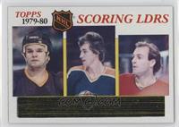 Marcel Dionne, Wayne Gretzky, Guy Lafleur