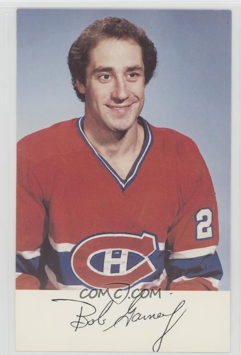 quality design 14eba a3c3a 1981-82 Montreal Canadiens Team Issue - [Base] #BOGA - Bob ...