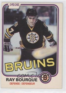 1981-82 O-Pee-Chee - [Base] #1 - Ray Bourque