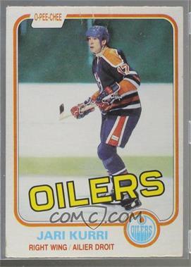 1981-82 O-Pee-Chee - [Base] #107 - Jari Kurri