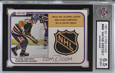 1981-82 O-Pee-Chee - [Base] #384 - Wayne Gretzky [KSA6.5ENM+]