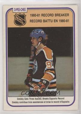 1981-82 O-Pee-Chee - [Base] #392 - Wayne Gretzky