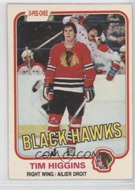 1981-82 O-Pee-Chee - [Base] #57 - Tim Higgins