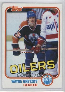 1981-82 Topps - [Base] #16 - Wayne Gretzky