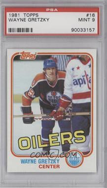 1981-82 Topps - [Base] #16 - Wayne Gretzky [PSA9]