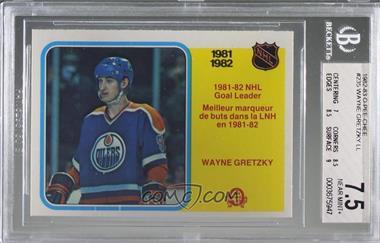1982-83 O-Pee-Chee - [Base] #235 - Wayne Gretzky [BGS7.5NEARMINT+]